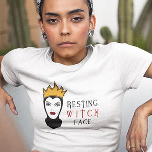 RESTING WITCH FACE Evil Queen Tee